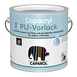 capacryl pu vorlack caparol beckers dulux. Black Bedroom Furniture Sets. Home Design Ideas